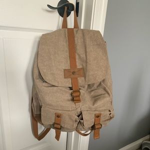 3 compartment book bag